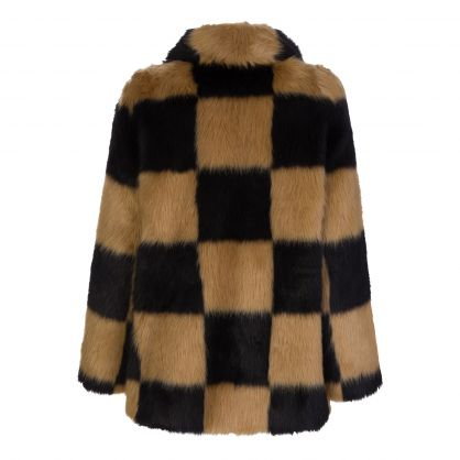 Black/Beige Nani Jacket