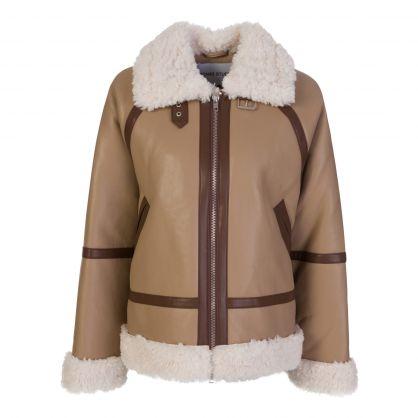 Taupe Rind Jacket