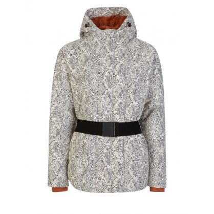 Cream Dowlen Ski Jacket
