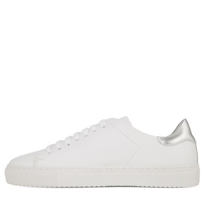 White/Silver Clean 90 Trainers