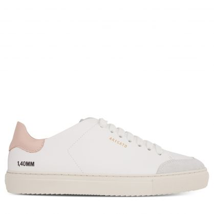 White/Pink Clean 90 Triple Trainers