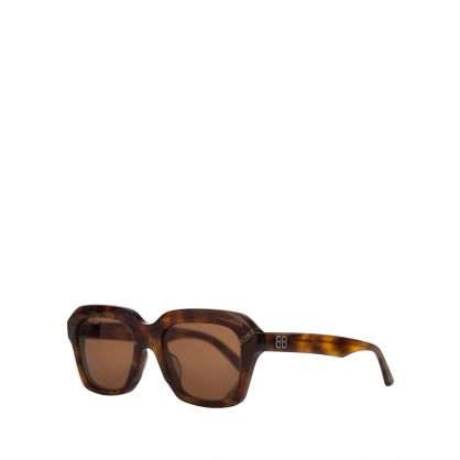 Brown Power Butterfly Sunglasses