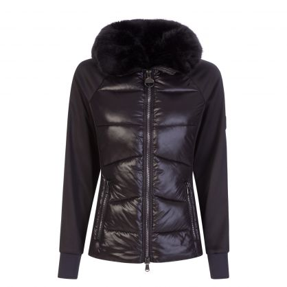 Black Titanium Sweat Jacket