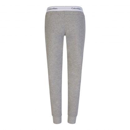 Grey Logo Waistband Sweatpants