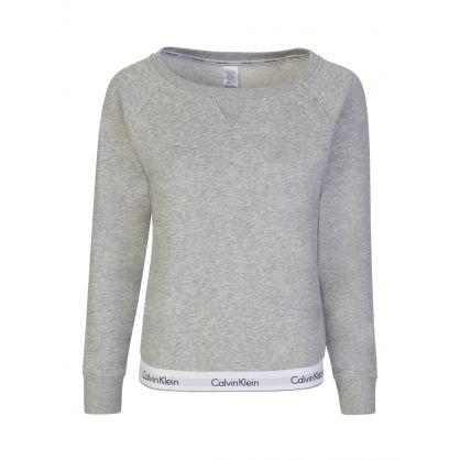 Grey Waist Logo Sweatshirt