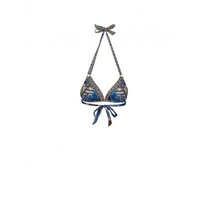Animal Army Ring Tri Bikini Top