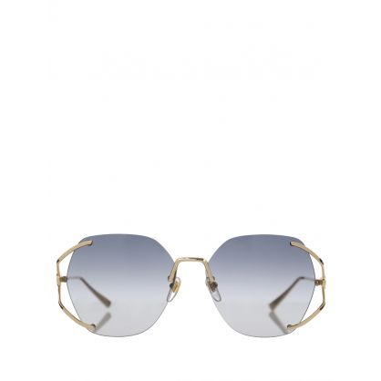 Gold Metal Sunglasses