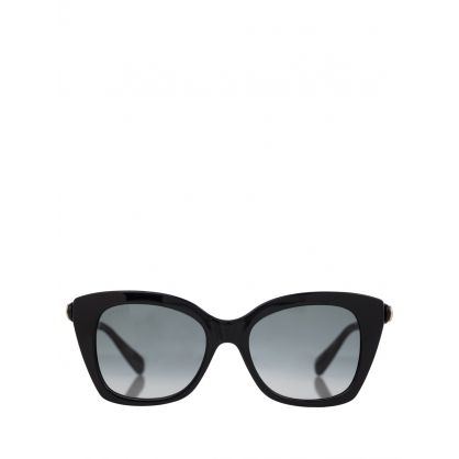 Black Cats Eye Sunglasses