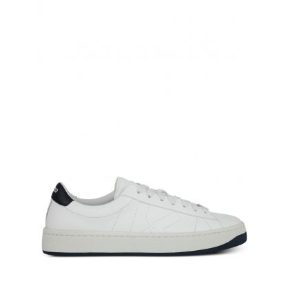 White Kourt Low Top Trainers