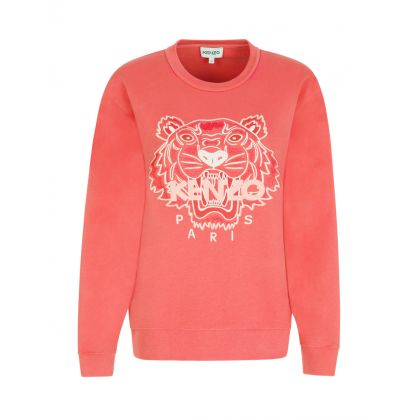 Orange Tiger Sweatshirt