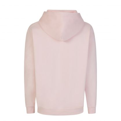 Faded Pink Popover Hoodie