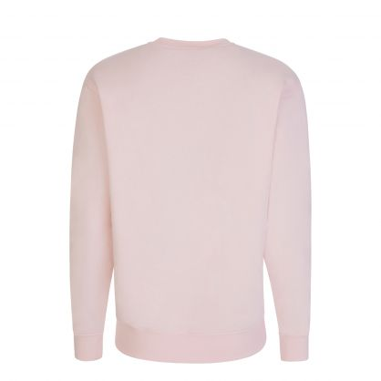 Pink Classic Embroidered Tiger Sweatshirt