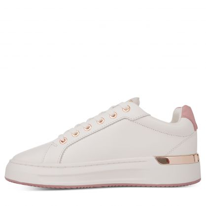 White/Pink GRFTR Trainers