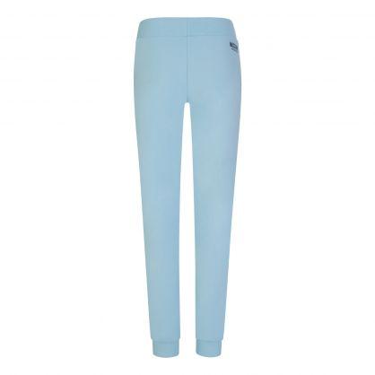 Light Blue Logo Tape Sweatpants