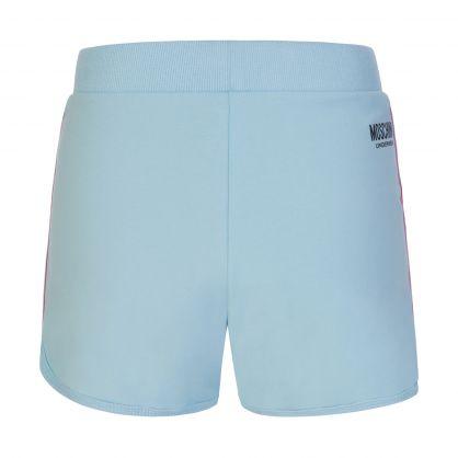 Blue Underwear Logo Tape Shorts