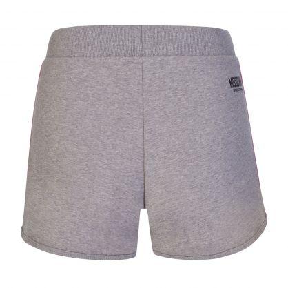 Grey Underwear Logo Tape Shorts