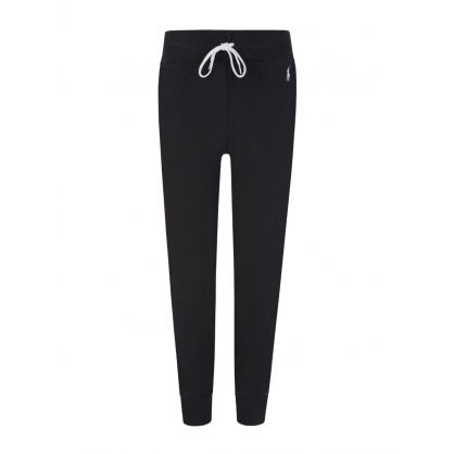 Black Fleece Jogger Sweatpants