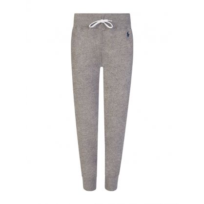 Grey Fleece Jogging Sweatpants