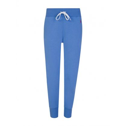 Blue Fleece Jogger Sweatpants