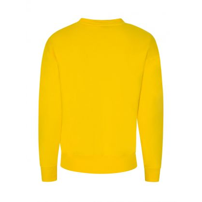 Yellow Fleece Sweatshirt
