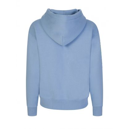 Blue Ombre Logo Hoodie
