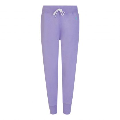 Lavender Fleece Sweatpants