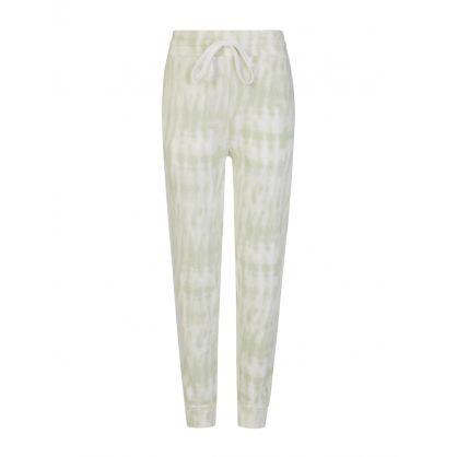 Green Oakland Tie-Dye Sweatpants