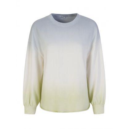 Reeves Blue Dip Dye Sweatshirt