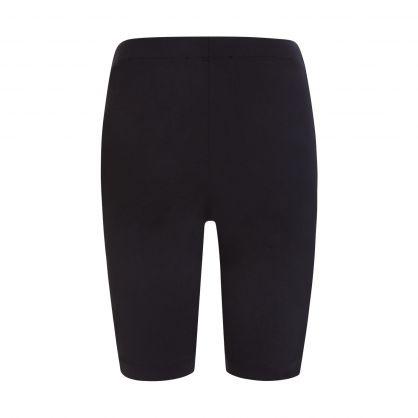 Black Skinny-Fit Short Leggings