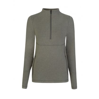 Grey Formosa Half-Zip Sweatshirt