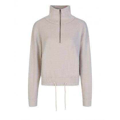 Grey Buckingham Half-Zip Sweatshirt