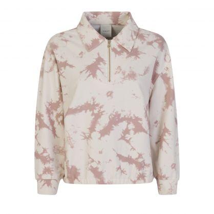 Taupe Romero Tie-Dye Sweatshirt