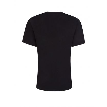 Black Logo Sleepwear T-Shirt