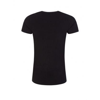 Black Crystal Logo T-Shirt