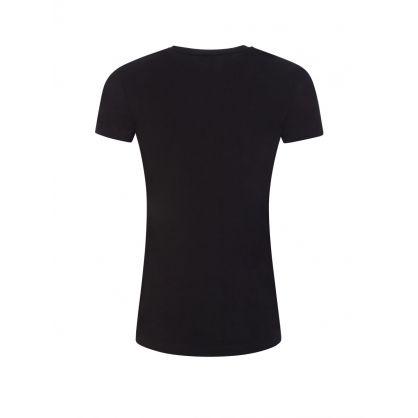 Black Logo Lounge T-Shirt