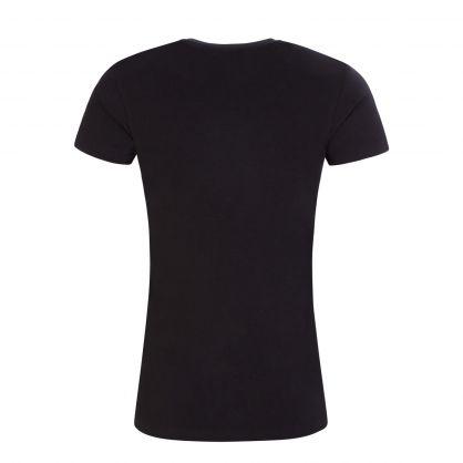 Black Logo Loungewear T-Shirt