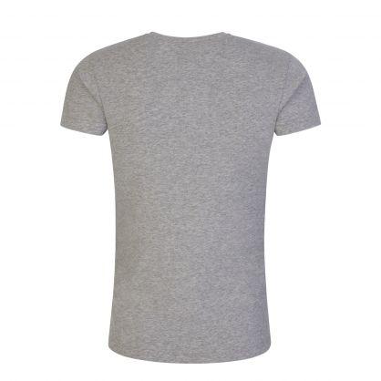 Light Grey Logo Loungewear T-Shirt