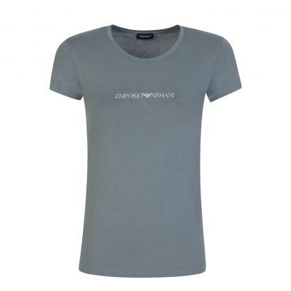 Green Logo Loungewear T-Shirt