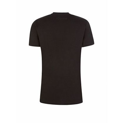 Black Essential Round-Neck T-Shirt