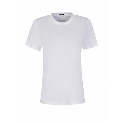 White Essential Round-Neck T-Shirt