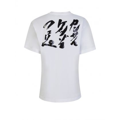 x Kansai Yamamoto White Loose-Fit 'Three Tigers' T-Shirt