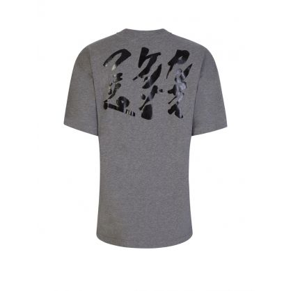 x Kansai Yamamoto Grey Loose-Fit 'Three Tigers' T-Shirt