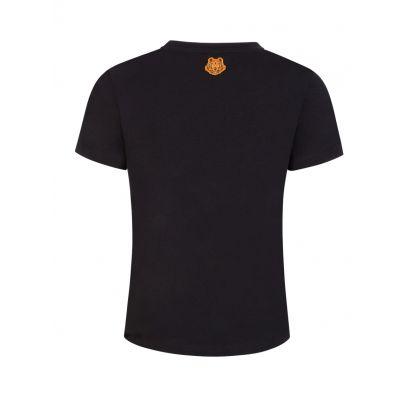 x Kansai Yamamoto Black 'Three Tigers' T-Shirt