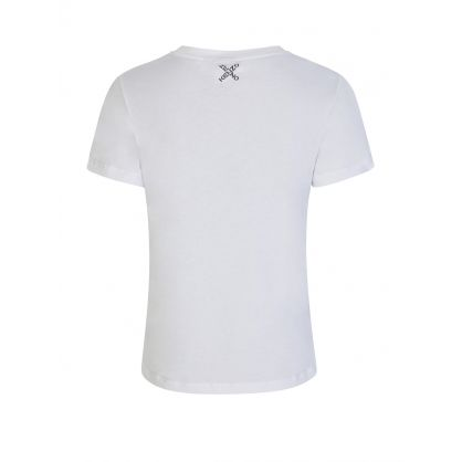 White Cross Logo T-Shirt