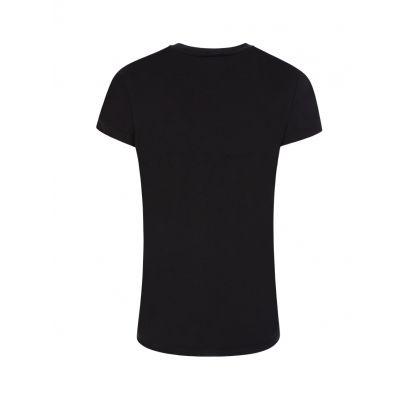 Black Logo Print T-Shirt