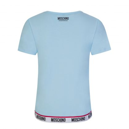 Blue Underwear Logo T-Shirt