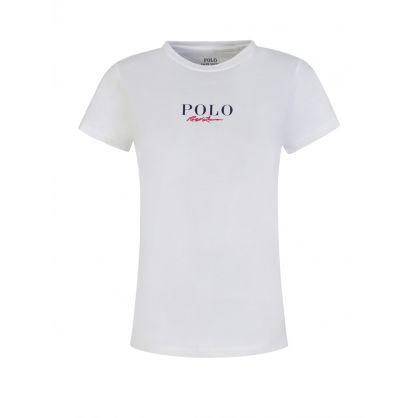 White Jersey RL T-Shirt