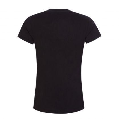 Black RL Sequin Logo T-Shirt