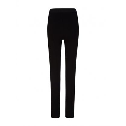 Black Essential Skinny Trousers