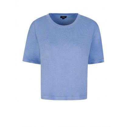 Blue The Boxy Crew T-Shirt